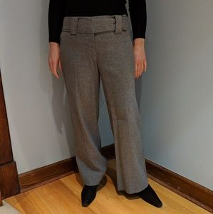 Great! Nanette Lepore gray wool pants/ size 2!!!